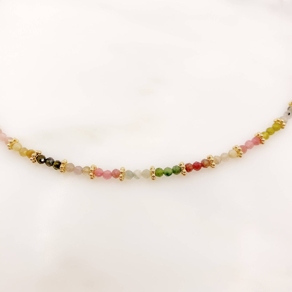 Collier Marion - Multi Tourmaline