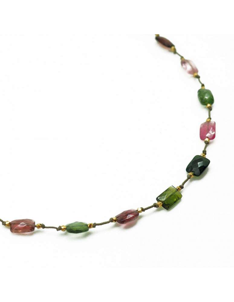 Collier Holly - Multi Tourmaline