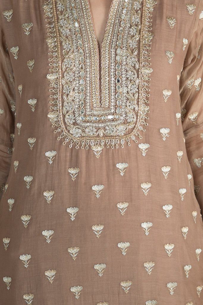 Meera Kurta with Sharara-Sharara Set-Gopi Vaid Designs