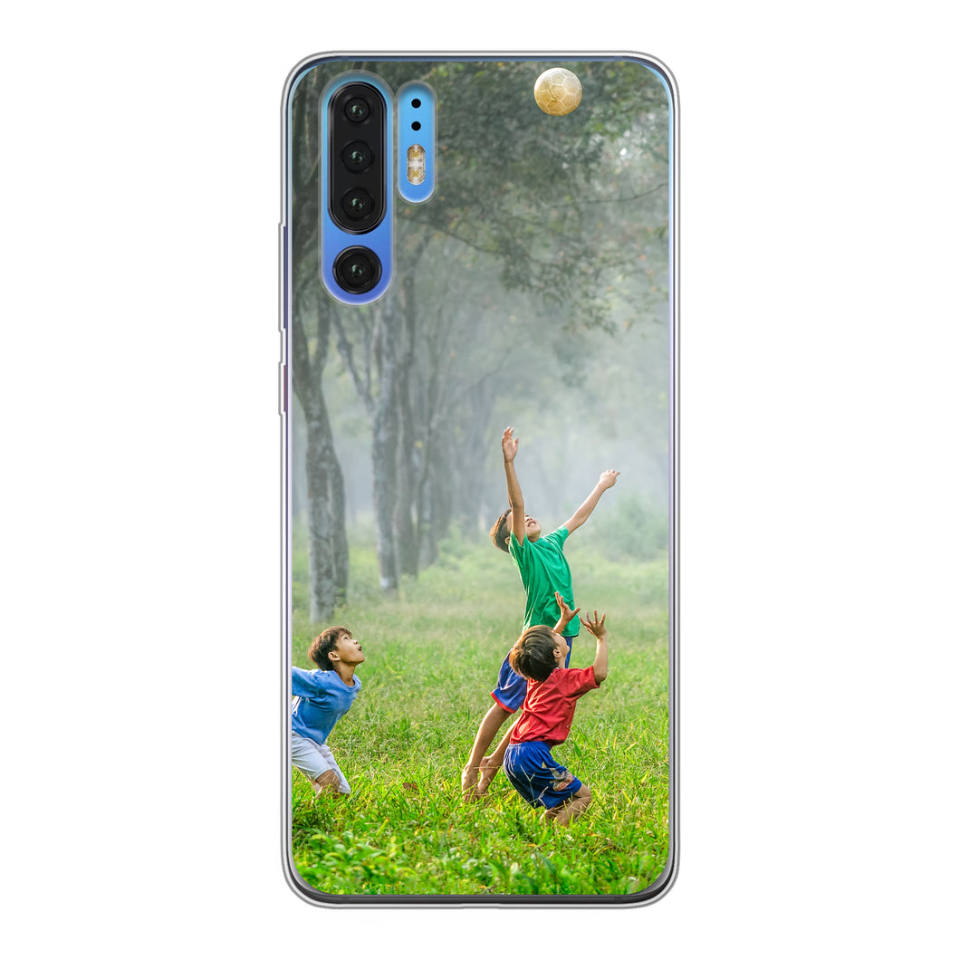 Huawei P30 Pro Soft case (back printed, transparent)
