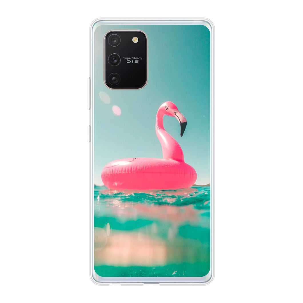 Samsung Galaxy S10 Lite Soft case (back printed, transparent)