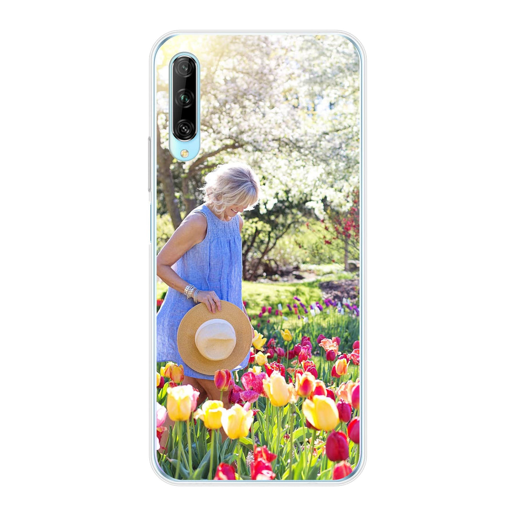 Huawei P Smart Pro Soft case (back printed, transparent)