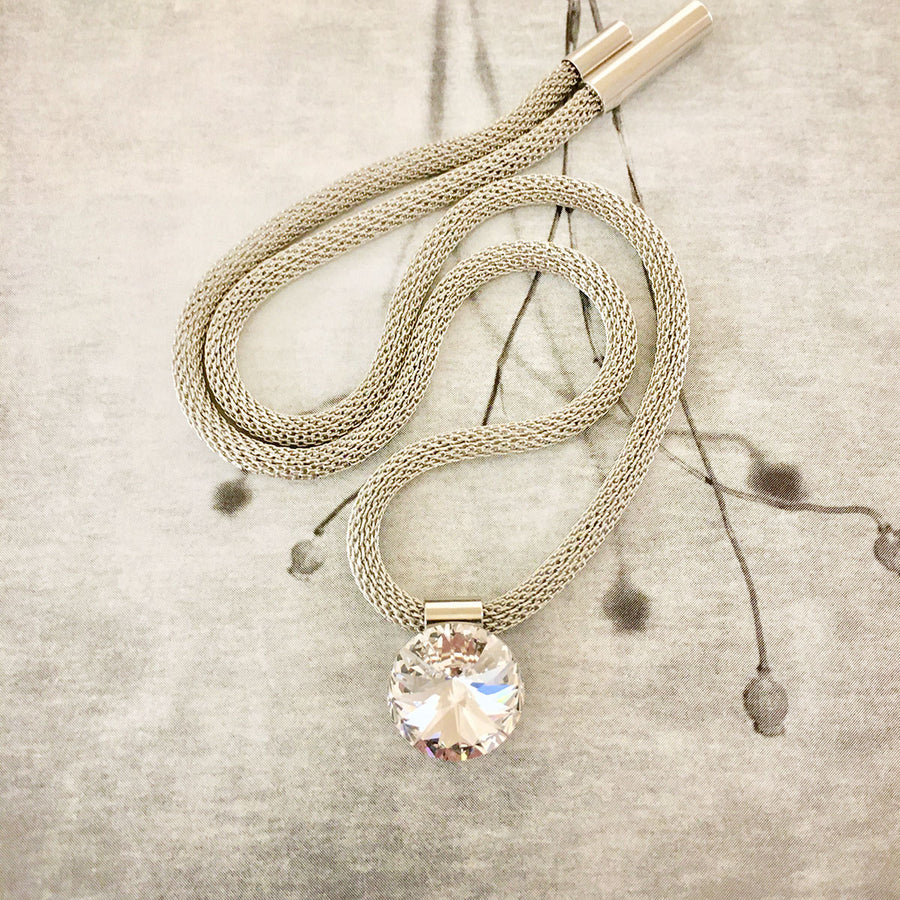 Swarovski Crystal Necklace - Clear