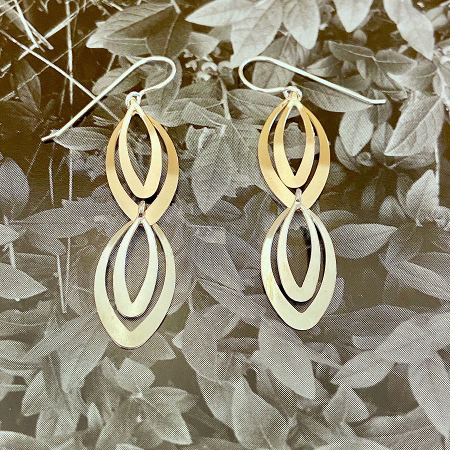 Multi-Oval Dangle Earrings