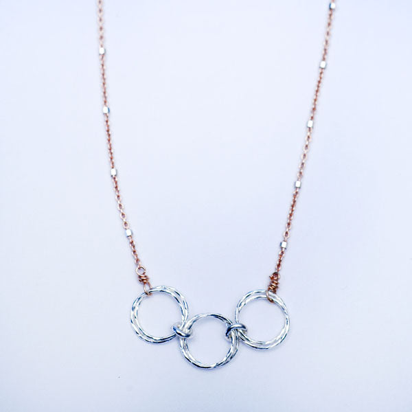 Triple Harmony Necklace
