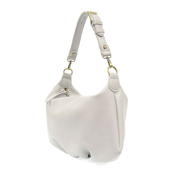 Suzy Hobo Bag - Dove Grey