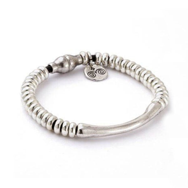 Classic Sterling Silver Plated Bracelet