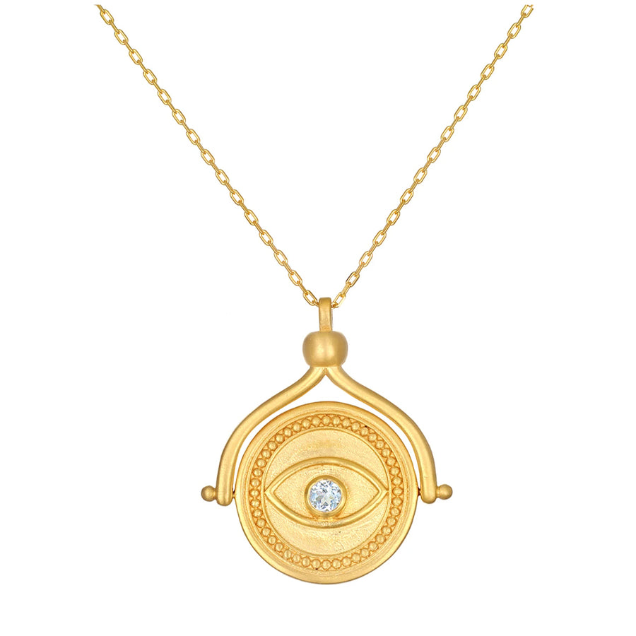 In Safekeeping Spinner Necklace