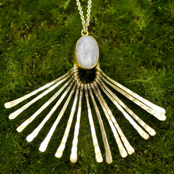 Aretha Moonstone Necklace