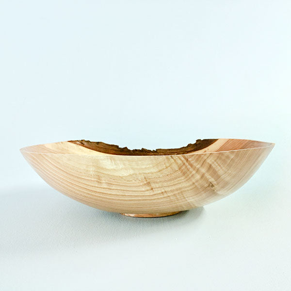 White Walnut Turned Bowl