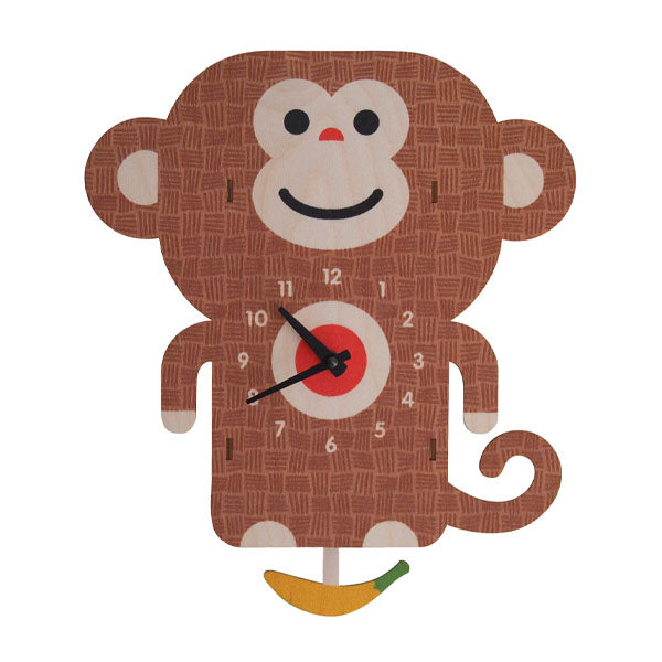Monkey Pendulum Clock