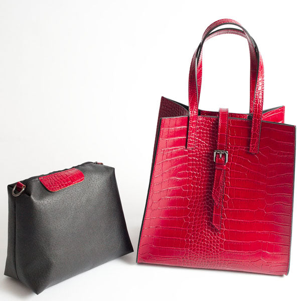 Bellagio Handbag - Red