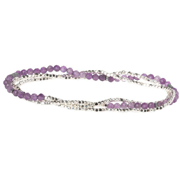 Amethyst Delicate Stone of Protection Wrap