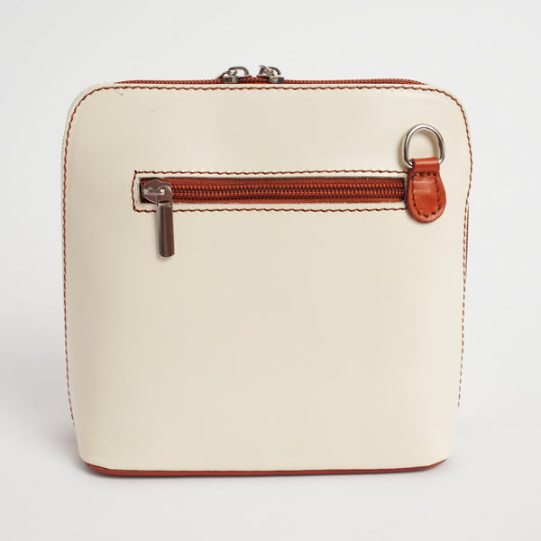 Cream Italian Artimino Crossbody