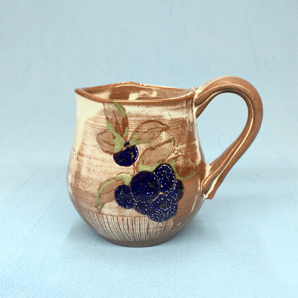 Blueberry Coffee Mug - B