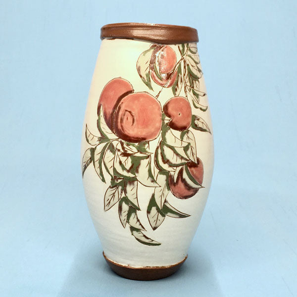 Satsuma Fruit Ceramic Vase