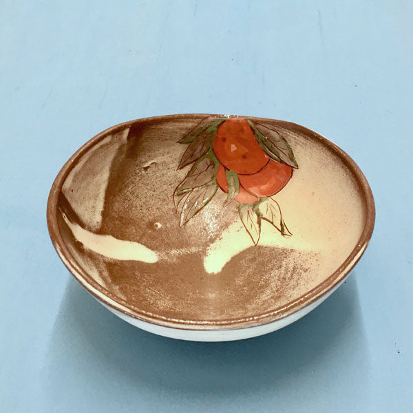 Satsuma Fruit Ceramic Bowl