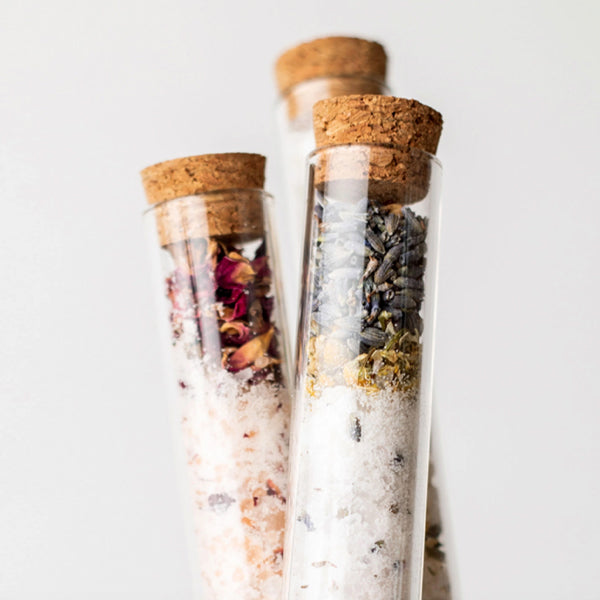 Grapefruit Lemongrass Bath Soak Test Tube