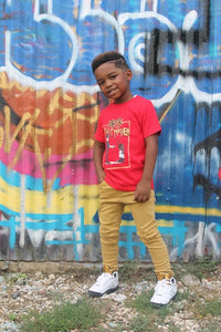 BLM Tee (KIDS) RED