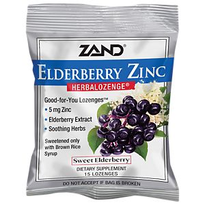 HerbaLozenge Elderberry Zinc - Sweet Elderberry