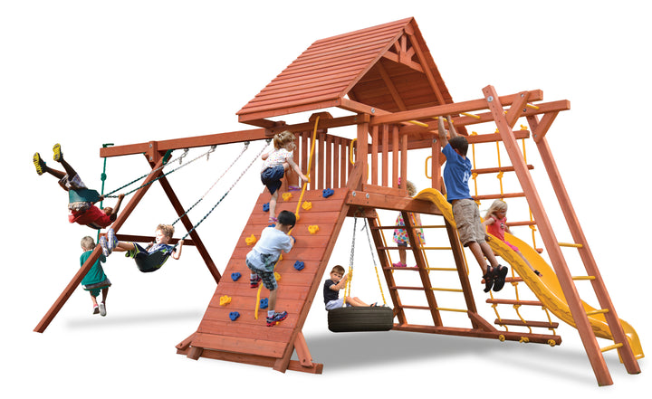Original Playcenter Combo 3 with Wood Roof (11D)