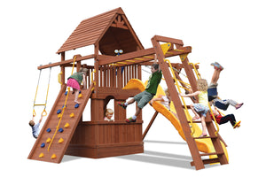 Deluxe Fort Combo 3 w/Lower Level Playhouse (17C))