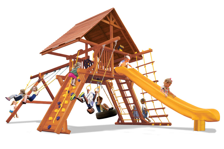 Supreme Playcenter w/Wood Roof (27B)