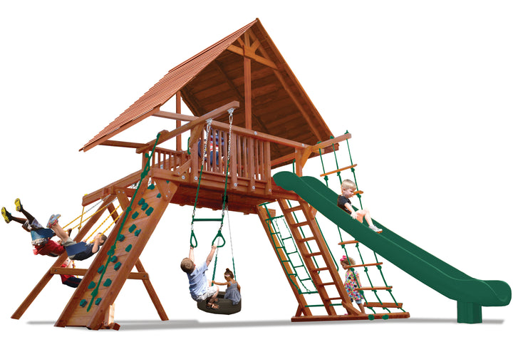 Extreme Playcenter with Wood Roof (31B)
