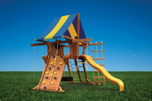 Deluxe Playcenter Double Swing Arm (37F)