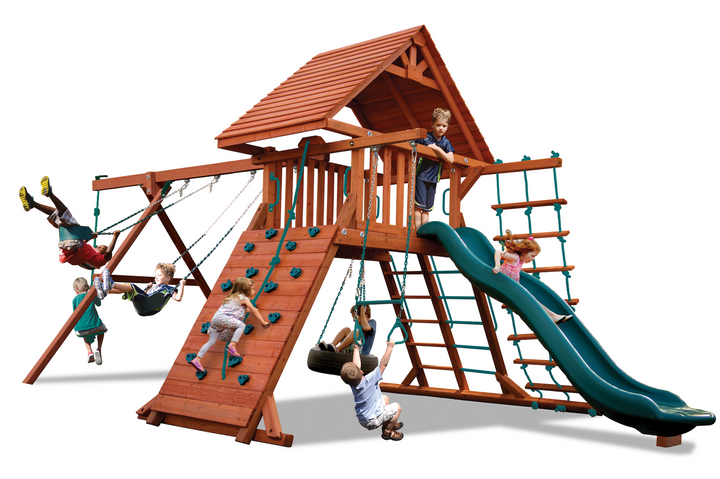 Turbo Original Playcenter with Wood Roof (19B)