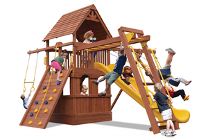 Turbo Deluxe Fort Combo 3 with Playhouse (21C)