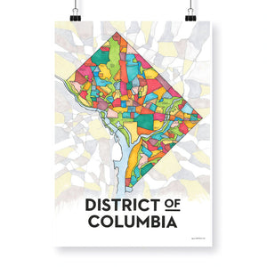 District of Columbia Print