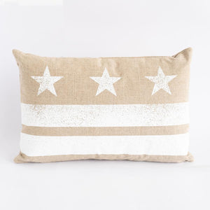 Natural DC Flag Pillow