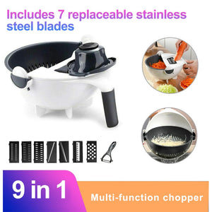 Multifunctional Vegetable Slicer Vegetable Cutter Draining Basket