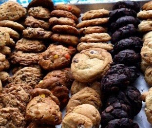 3 dozen full sizes cookie party tray- not available to ship, local pick up or delivery only