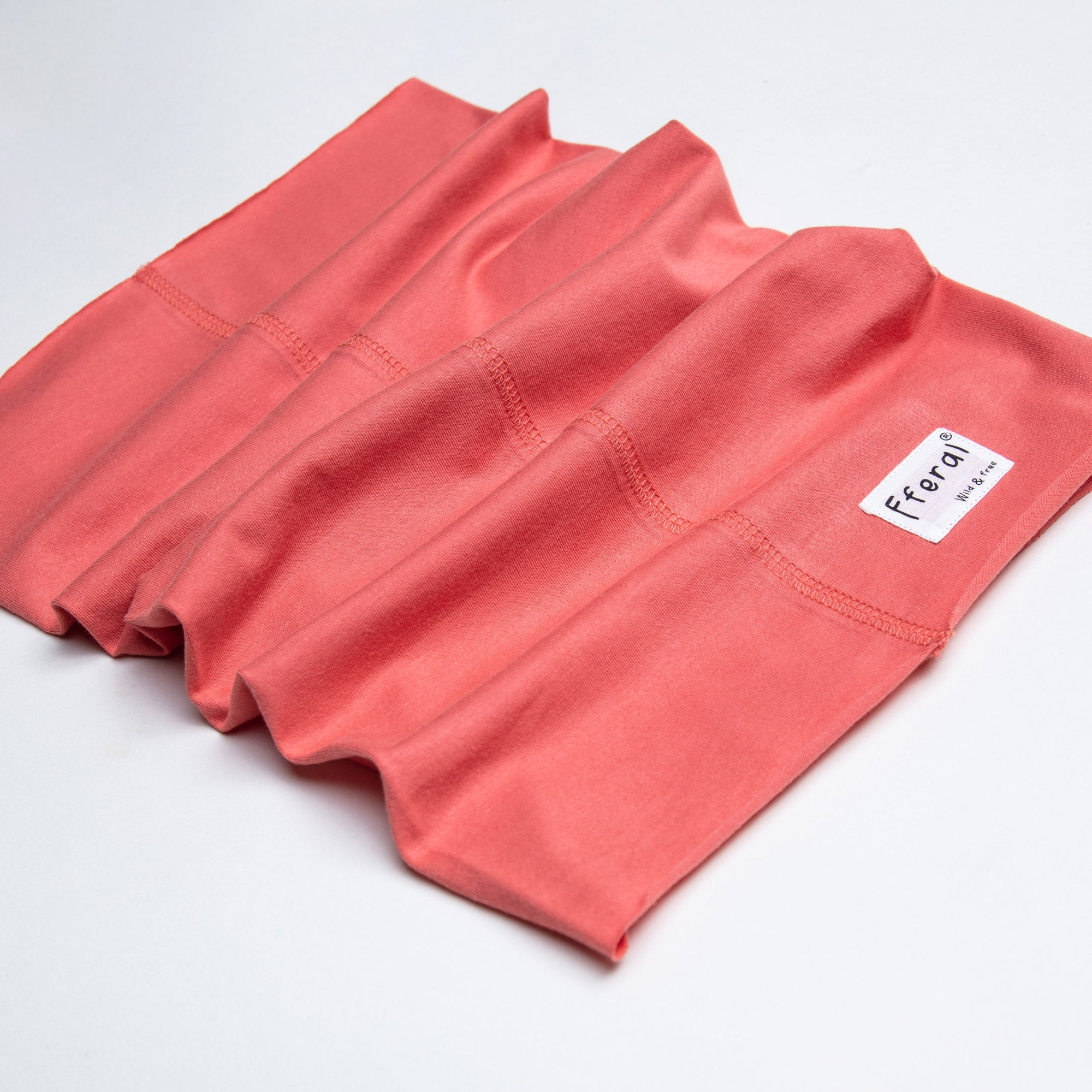 Neck gaiter made from deadstock fabric