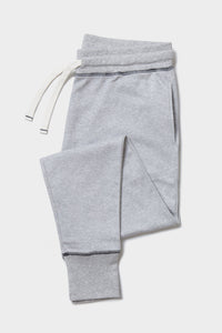 Grey Marl Lounge Pants - Sustainable Vegan Cotton (Unisex)