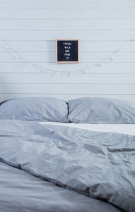 organic cotton duvet and pillowcases lifestyle