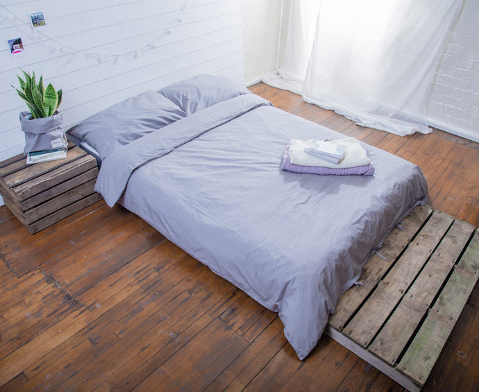 organic cotton duvet and pillowcases
