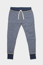 Load image into Gallery viewer, Indigo Striped Lounge Pants