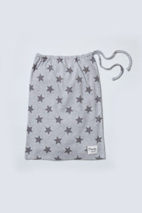grey marl star loungewear bag