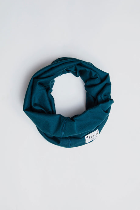 Neck Gaiter - Dark Green - Sustainable Cotton