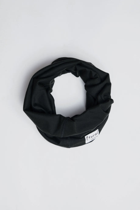 Neck Gaiter - Black - Sustainable Cotton