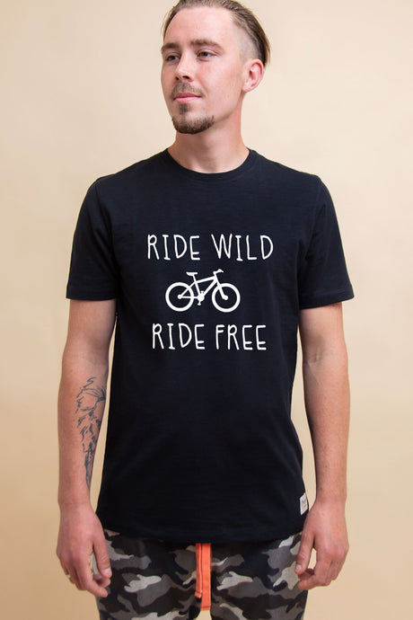 Vegan MTB T-Shirt - Sustainable Cotton (Various colours) (Unisex)