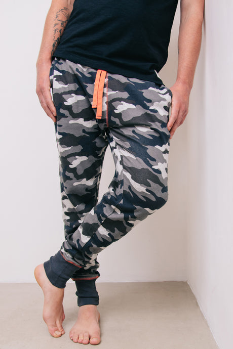 Camo Lounge Pant - Sustainable Vegan Cotton (Unisex)