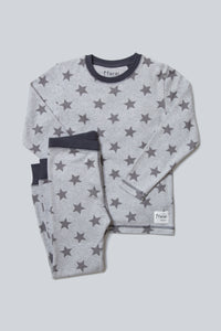 Star Pyjama Set - Sustainable Vegan Cotton (Unisex)