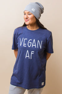 Vegan AF T-Shirt - Sustainable Cotton (Various colours) (Unisex)