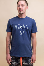 Load image into Gallery viewer, Vegan AF T-Shirt - Sustainable Cotton (Various colours) (Unisex)