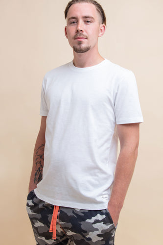 Pure White T-Shirt - Sustainable Vegan Cotton (Unisex)