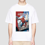 Men's T Shirt Spiderman Marvel Superhero Funny Tee Summer Men T-Shirt